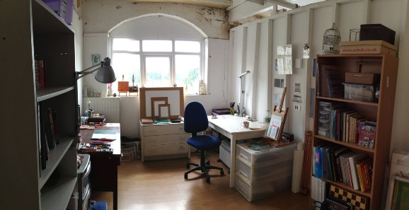 Image of a 2nd Floor Studio at Hot Bed Press